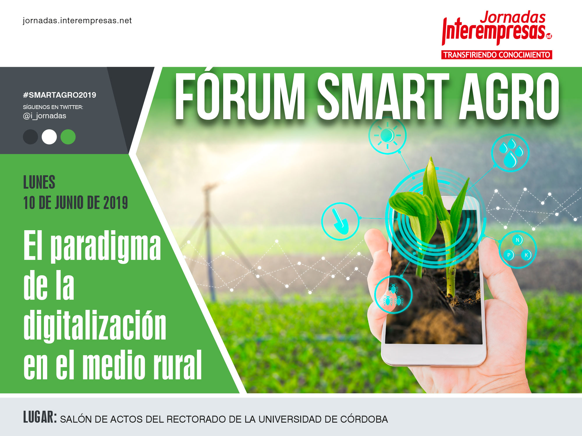 cartel de Fórum Smart Agro 2019