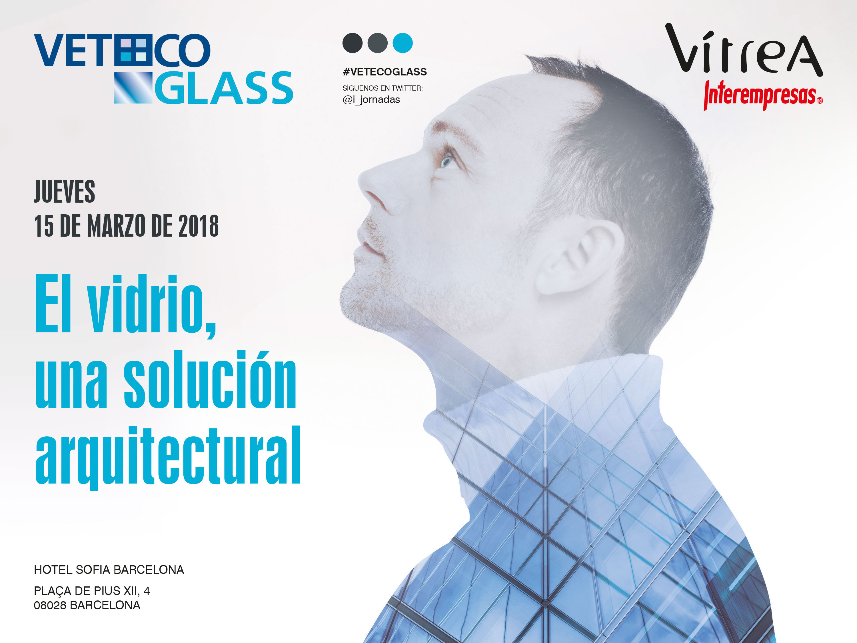 cartel de Jornada Veteco Glass Barcelona